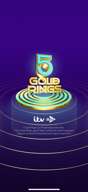5 Gold Rings UK on the App Store