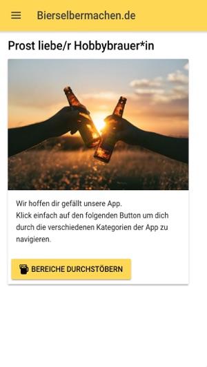 bier brauen bier rezepte im app store. Black Bedroom Furniture Sets. Home Design Ideas