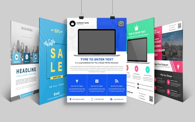 flyer templates for word by ca on the mac app store