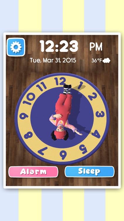 Clock Rug Time