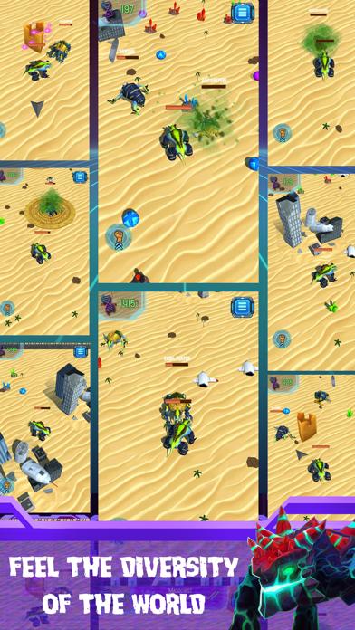 Titan Guns: Wasteland Legacy screenshot three