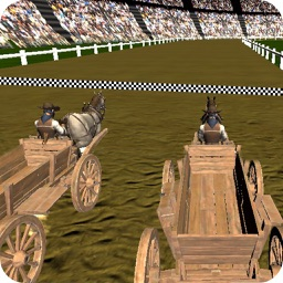 Real Horse Cart Champion