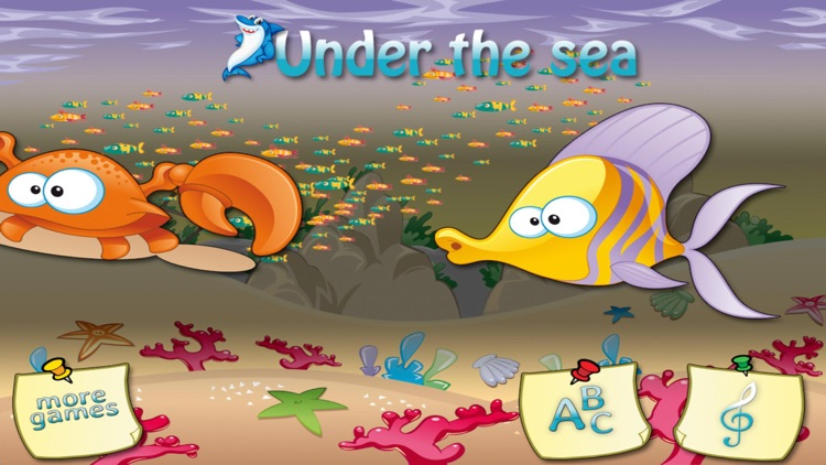 Under the sea • Learn numbers