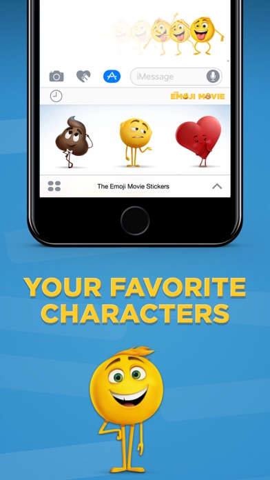 The Emoji Movie Stickers - Revenue & Download estimates - Apple App