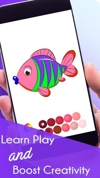 Coloring Book&Games: Colorful screenshot-4