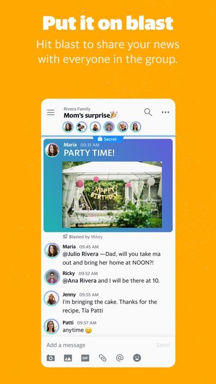 Yahoo Together - Group Chat screenshot-4