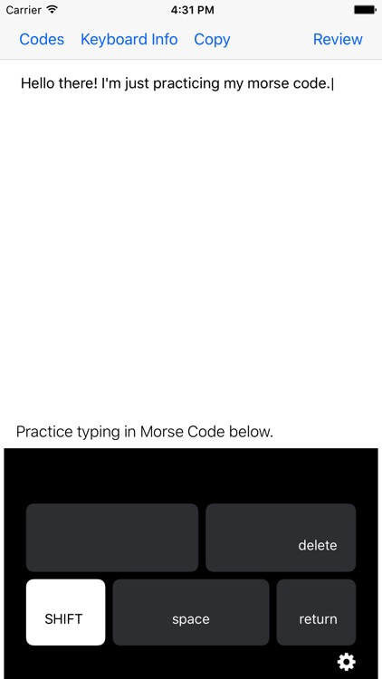 Morse Code Keys screenshot-0
