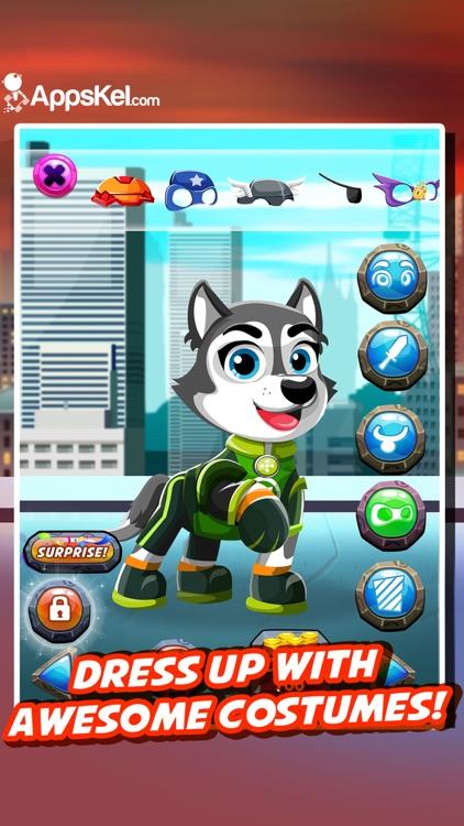 Super-Hero Pups League