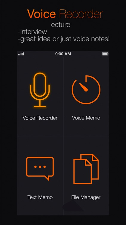 Voice Recorder+ Audio record screenshot-3