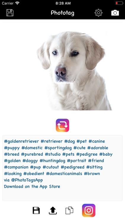 Phototag hashtag generator PRO screenshot-3