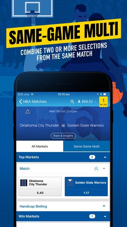 Sportsbet - Online Betting App screenshot-0