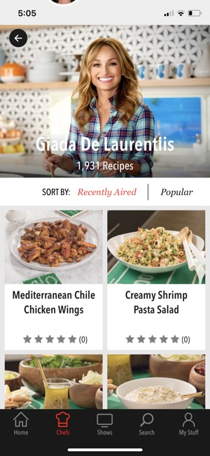 Food network in the kitchen on the app store screenshots forumfinder Images
