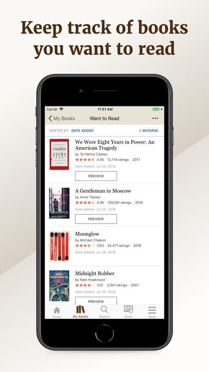 Goodreads: Book Reviews screenshot-5