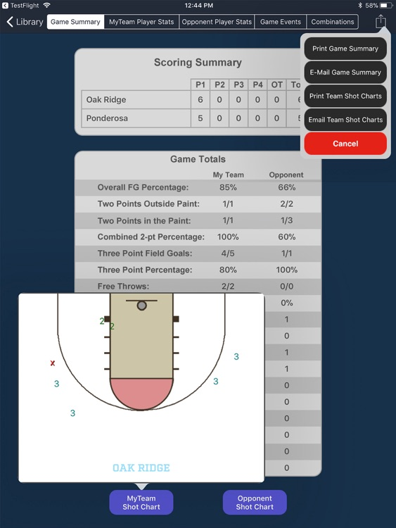 MaxStats - Basketball screenshot-2