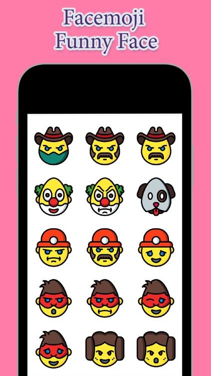 Facemoji - Funny Face