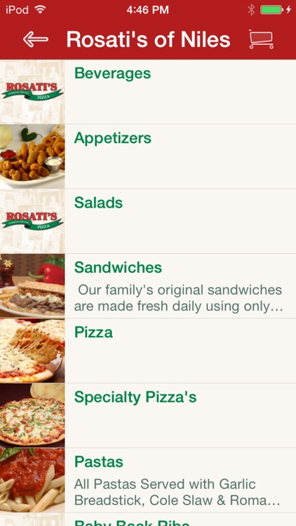 Rosatis Pizza screenshot-1