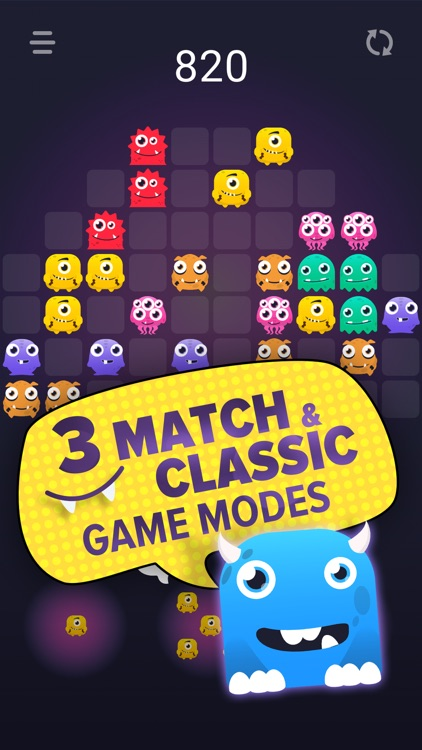 Monstro Puzzle Match 3 screenshot-1