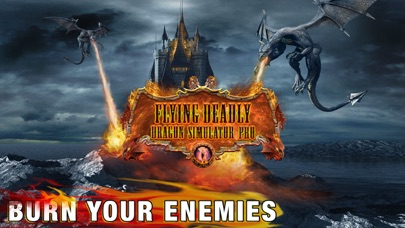 Flying Deadly Dragon Pro Screenshot 1