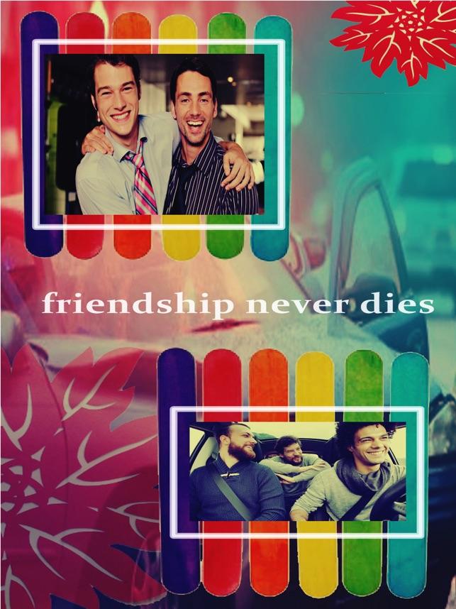 Freundschaft Tag Foto Rahmen im App Store
