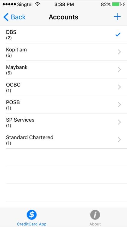 Credit Card App screenshot-4