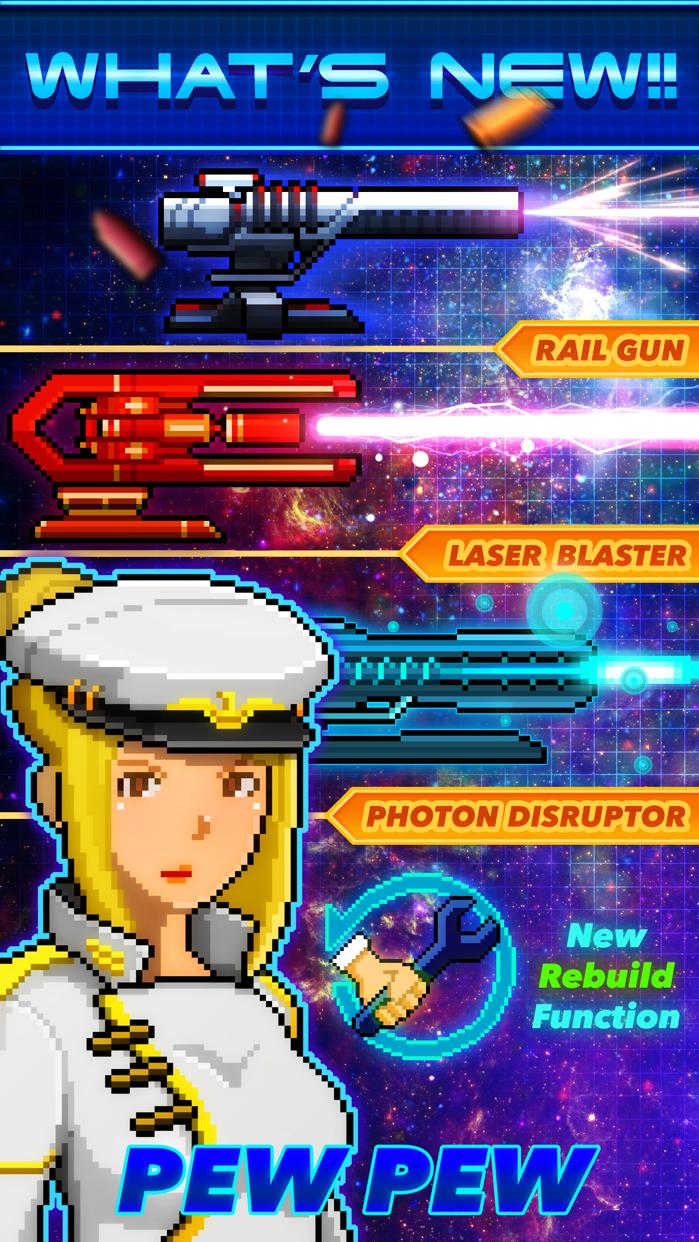 Pixel Starships™ Space MMORPG Screenshot