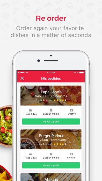 Domicilios.com - Order food screenshot-4