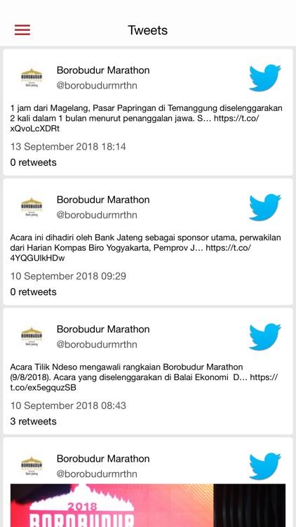 Borobudur Marathon screenshot-3
