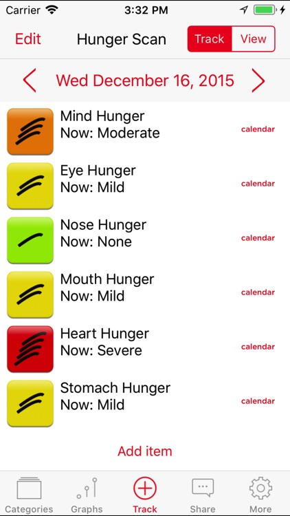Mindful Eating Tracker screenshot-4