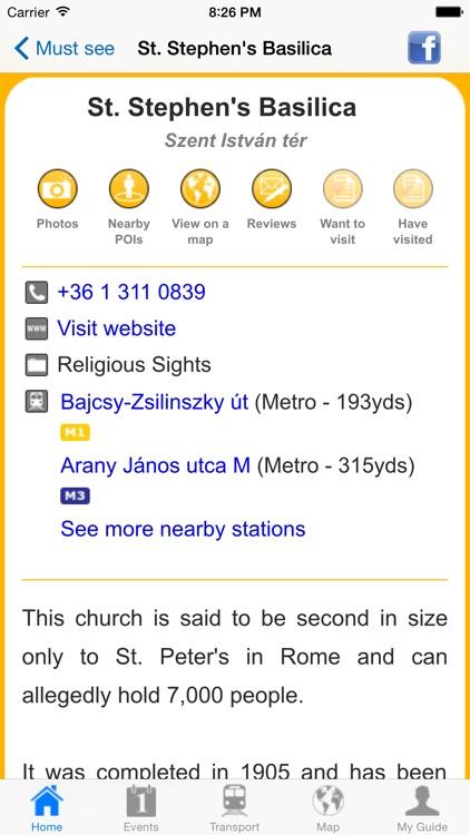 Budapest Travel Guide Offline screenshot-4
