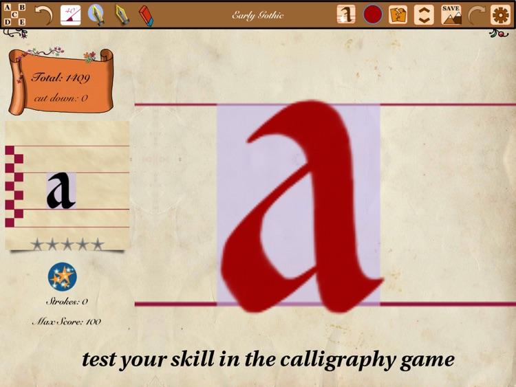 Calligraphy Handbook screenshot-3