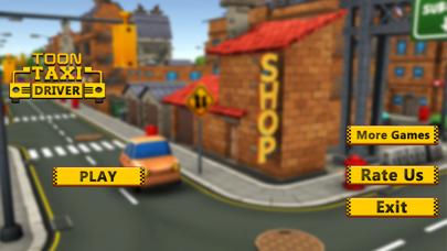 Blocky Taxi Drive Simulator 3Dのスクリーンショット1