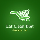 Eat Clean Diet Grocery List icon