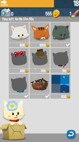 Hungry Cat Picross screenshot for iPhone