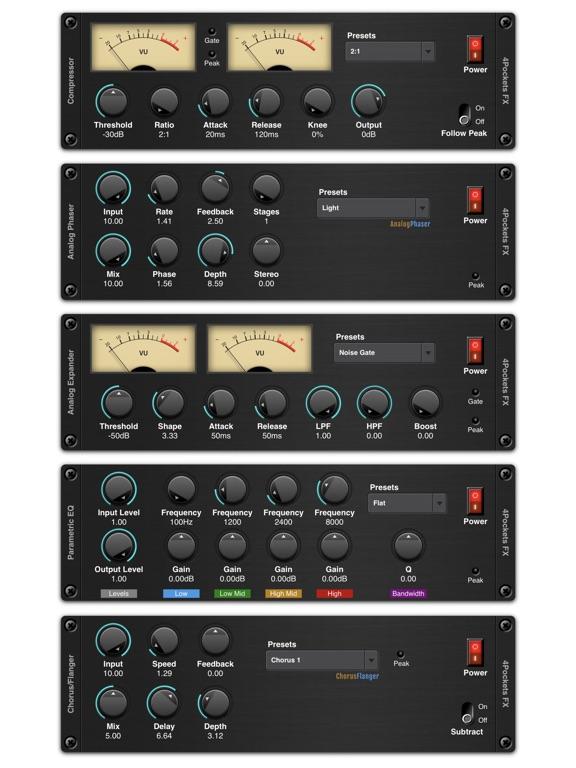 Audio Compressor AUv3 Plugin screenshot 7
