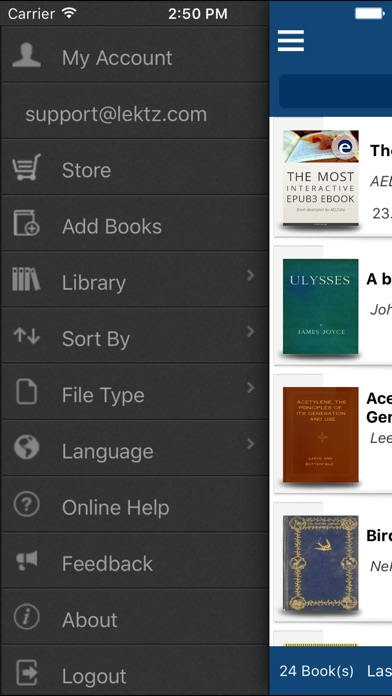 Lektz eBook Reader