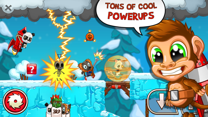 Fun Run 3: Arena Running Game Screenshot