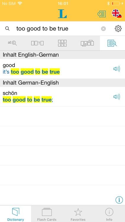 Big German English Dictionary