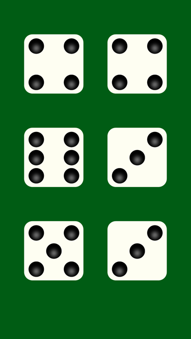 Dice White Use for table games screenshot one
