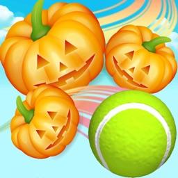 Ball Tossing Pumpkin vs Tennis