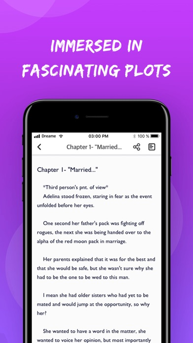 Screenshot for Dreame - Read Best Romance in United States App Store