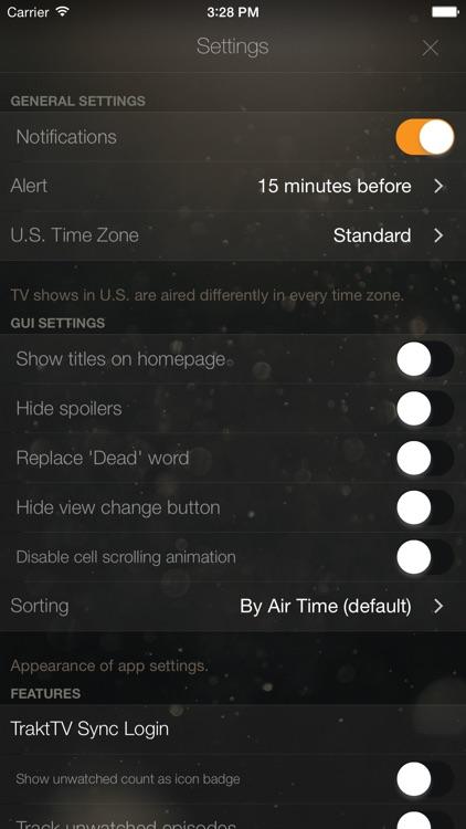 TeeVee 3 - Your TV Shows Guru screenshot-4