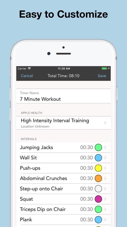Intervals Pro - HIIT Workouts screenshot-4