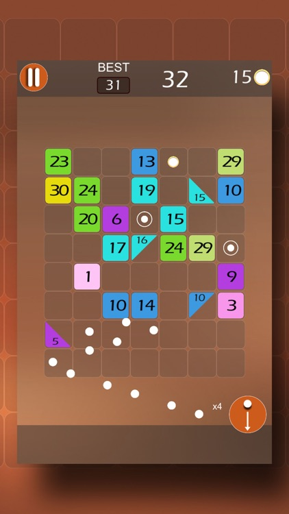 Blockz - Number Brick Break screenshot-3