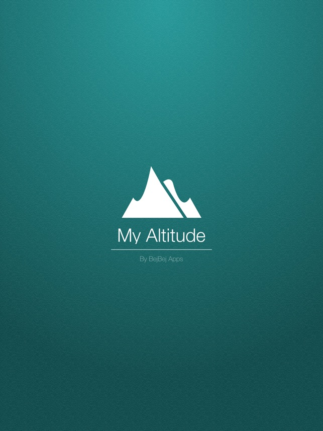 My Altitude On The App Store - What's our current elevation