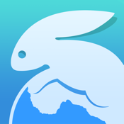 Snowbunny Web Browser: Free Fast Private Desktop Chrome & Firefox User Agent Mode Browsing icon