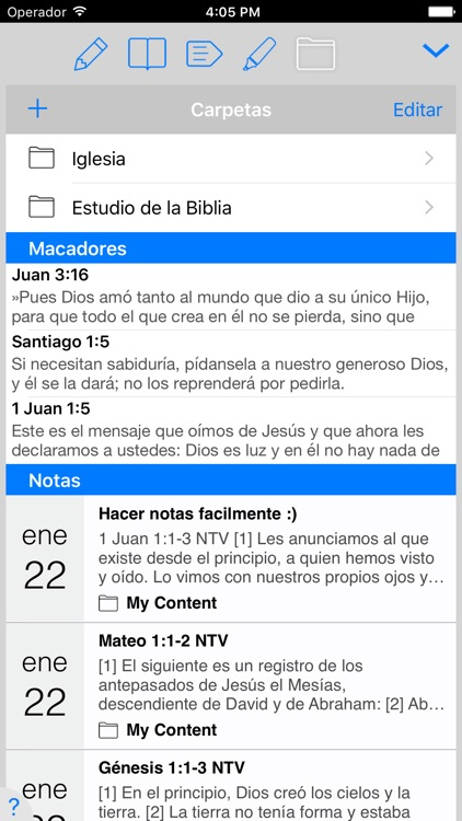 Santa Biblia NTV screenshot-2