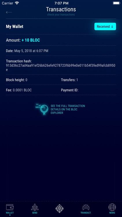 BLOC Wallet by FuriousTeam LTD screenshot-3