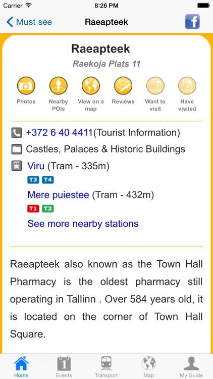 Tallinn Travel Guide Offline screenshot-4