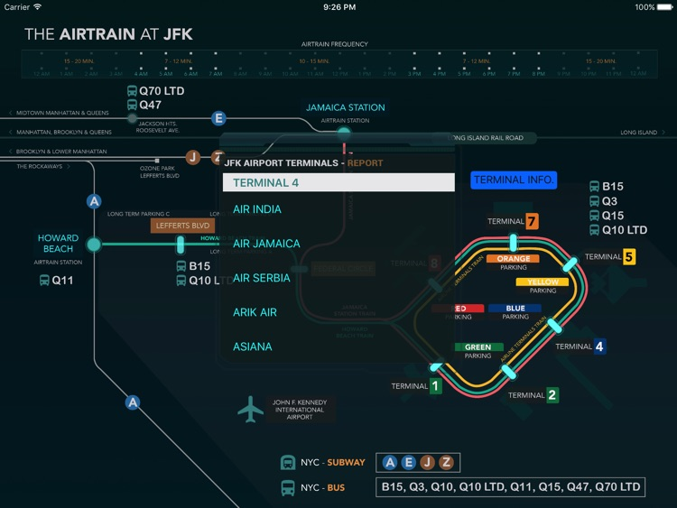 The AirTrain At JFK screenshot-0