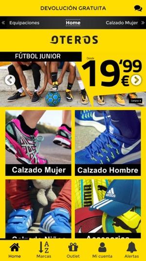 61aa00d779b1 Oteros - Zapatillas online en App Store